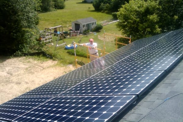 Residential Solar Array Alchemy Farm