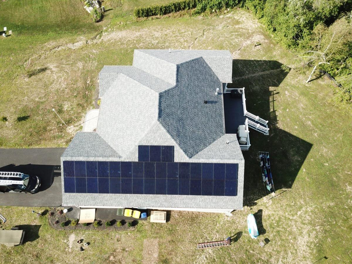 Residential Solar system in Westport, MA