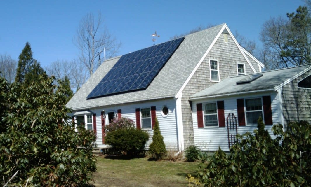 Roof mounted solar Hyannis