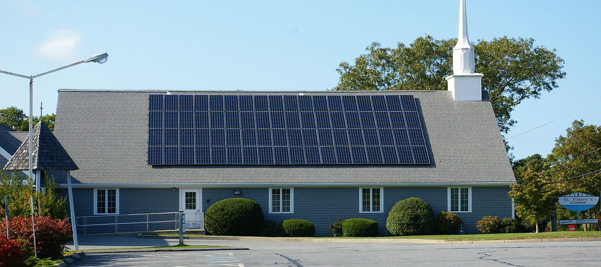 St. Peters Lutheran Church Solar, Cape Cod