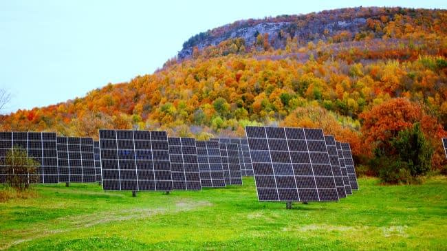 Commercial Dual-Axis Solar Trackers